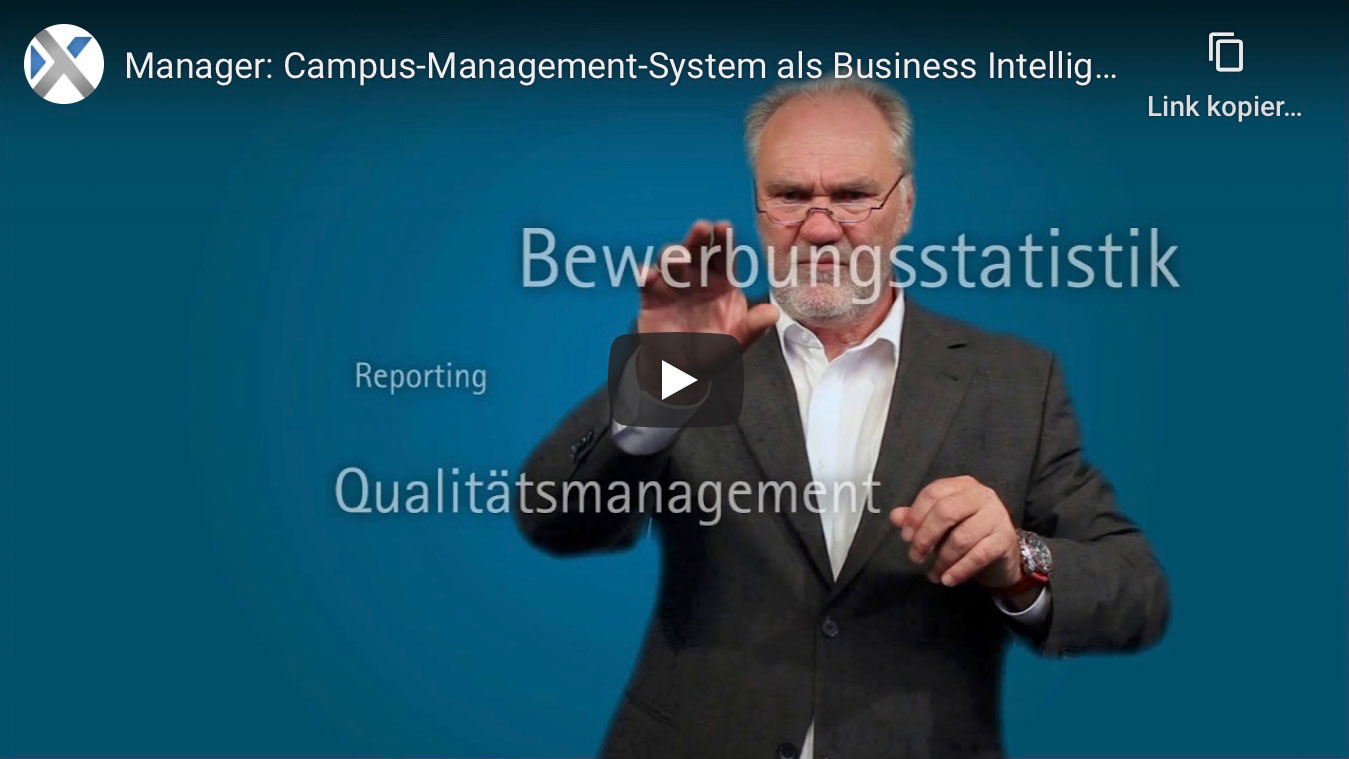 Manager: Campus-Management-System als Business Intellicence System