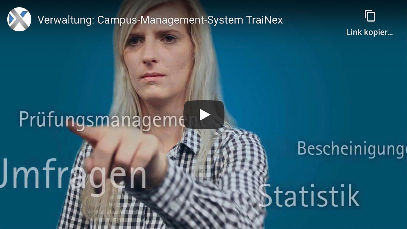 Verwaltung: Campus-Management-System TraiNex